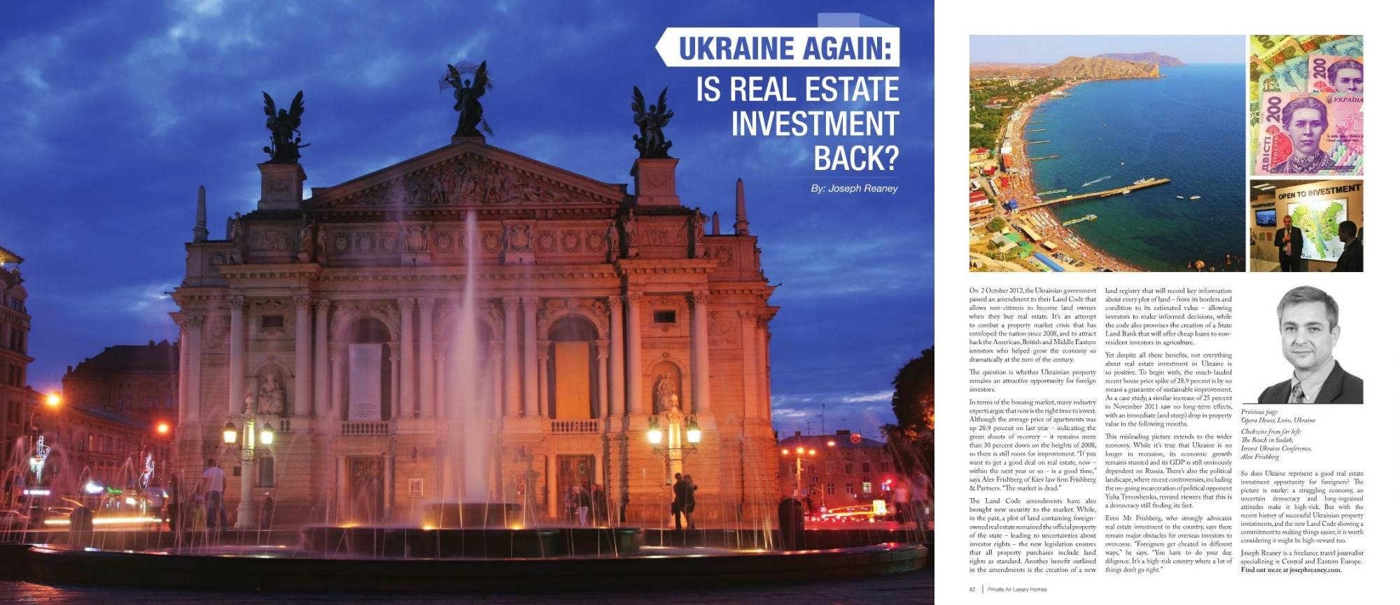 Foreigners Buying Property In Ukraine