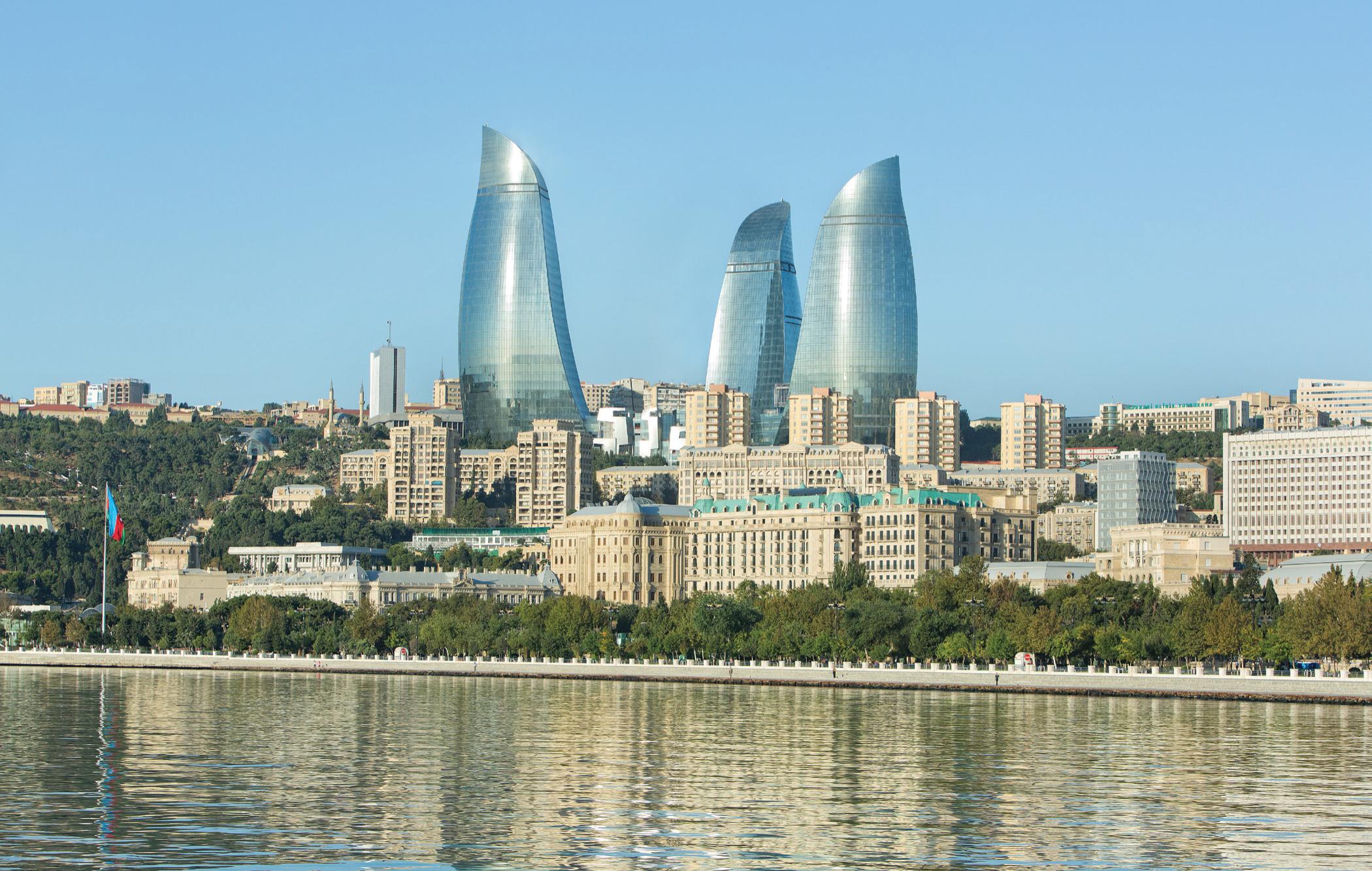 Baku's Flame Towers