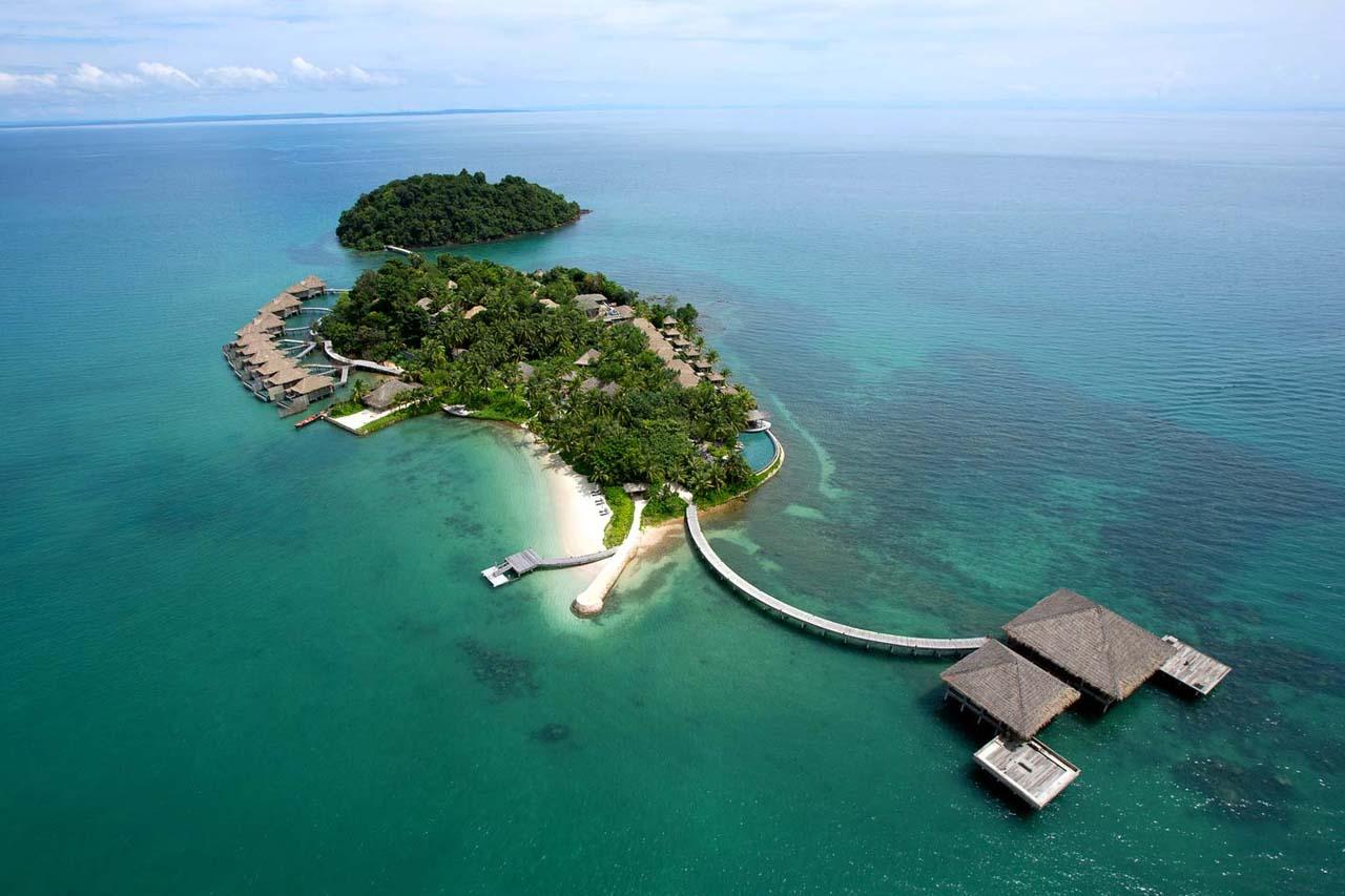 song saa island aerial