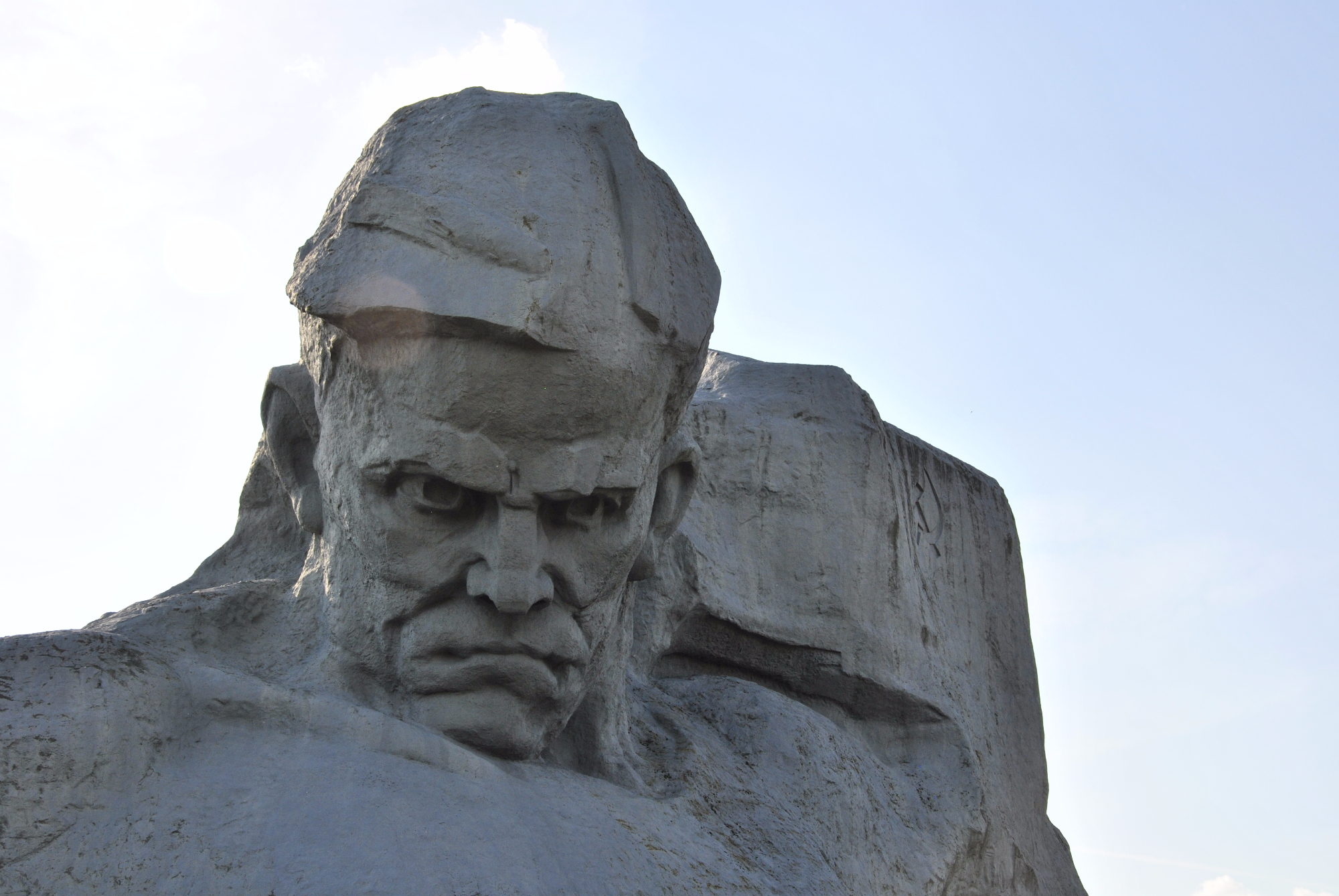 Monument at Brest Fortress.