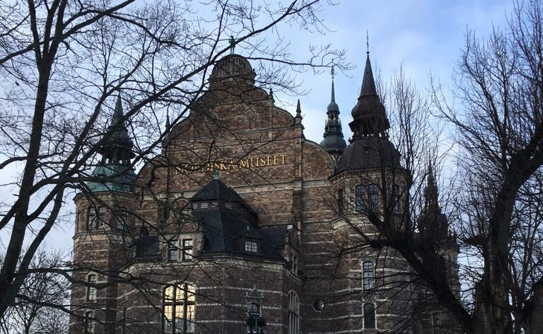 The Nordiska Museet, dedicated to Swedish culture